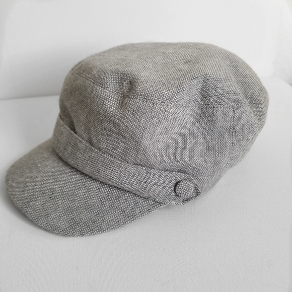 e7ab61ea49e Gray Baker Boy Cap. M 5c0b74b6035cf1943da00861